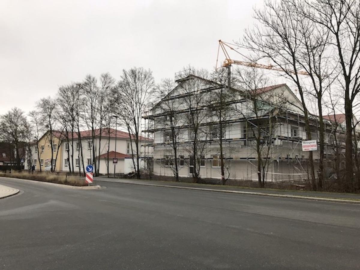 Richtfest Pflegeheim Diespeck, Service-Wohnen, Seniorenheim, Pflegeheim Martin Luther Haus, Diakonie